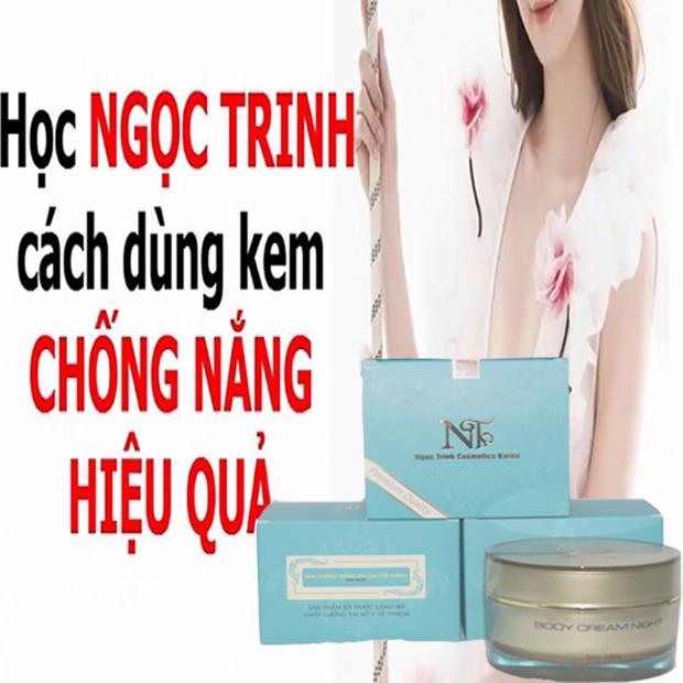 Kem Dưỡng Trắng Da Toàn Thân Ngoc Trinh Whitening NGHIT Body Hàn Quốc