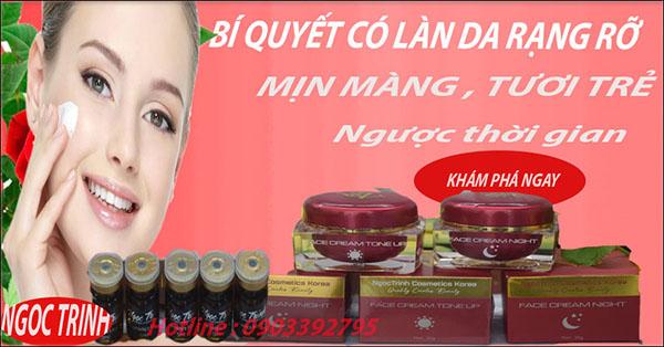 Kem Face Trắng Da Ngoc Trinh cosmetic